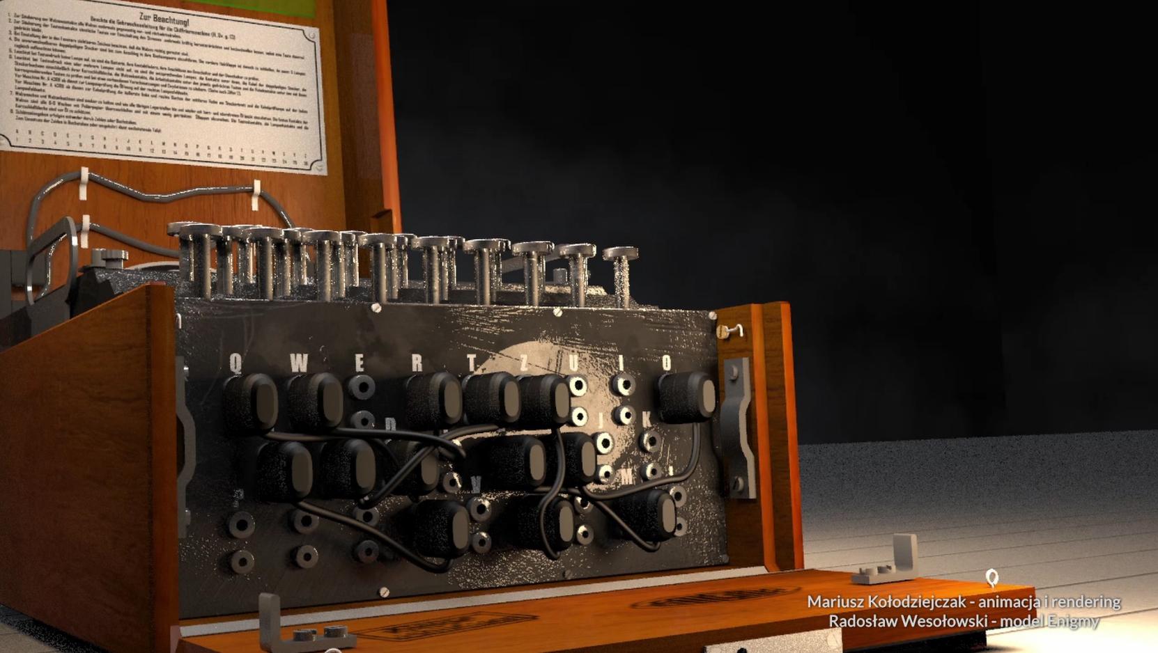 Łącznica wtyczkowa zastosowana w wojskowej wersji Enigmy znacząco zwiększała liczbę kombinacji szyfru.