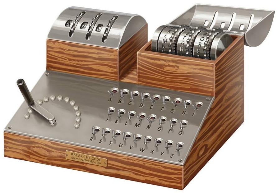 Cyklometr był pierwszym urządzeniem wspomagającym proces łamania szyfrów.