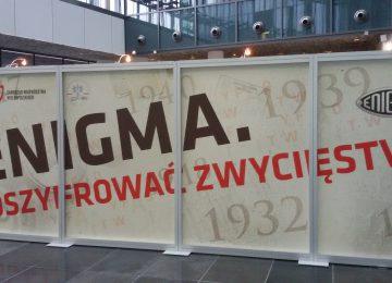 """Wystawa """"Enigma. Odszyfrować zwycięstwo"""" w Poznaniu"""