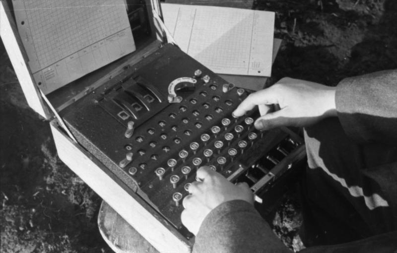 Enigma w użyciu podczas walk na terenie dzisiejszej Rosji.