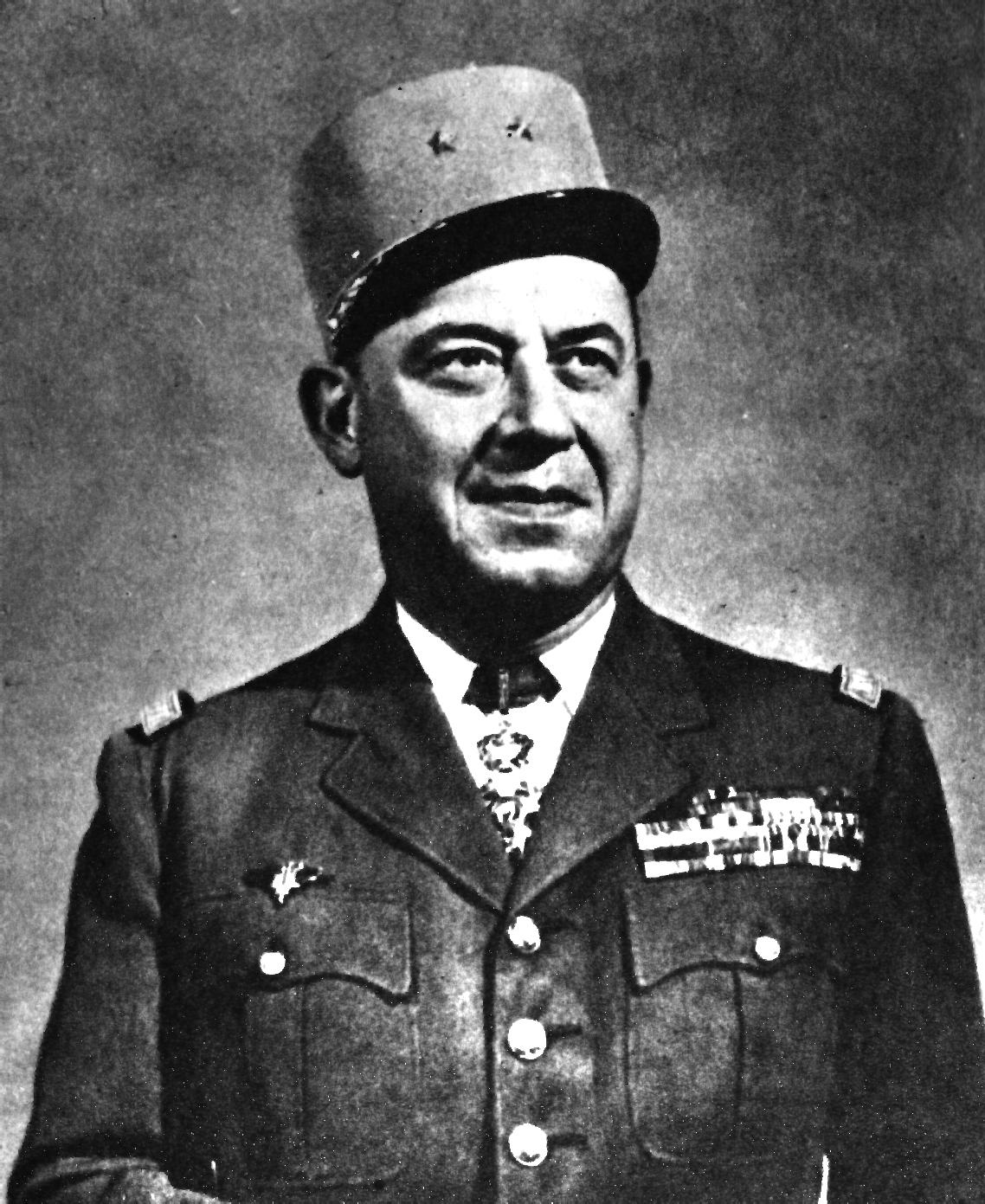 Gusteve Bertrand przekazywał klucze dalej Brytyjczykom i Polakom.