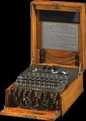 Zdjęcie prezentujące model Enigma 1.