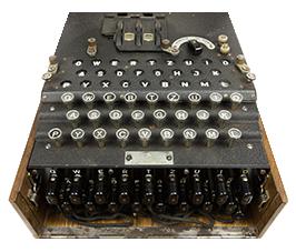 Zdjęcie prezentujące model Enigma D.
