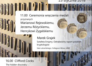 Medale Uniwersytetu im. Adama Mickiewicza w Poznaniu dla kryptologów