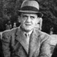 Zdjęcie prezentujące Gwido Karola Langera w latach powojennych