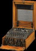 Enigma is used in German land troops.