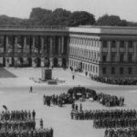 Zdjęcie Pałacu Saskiego w Warszawie